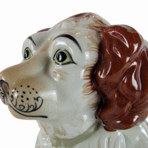 figura di cavalier King Charles in ceramica 3255