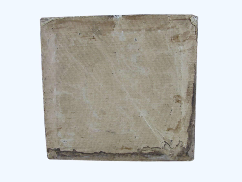 Antica Cornice Dorata in pastiglia con Cristo dipinto
