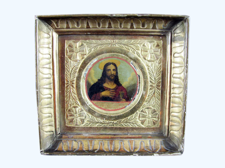home quadri religioso antica cornice dorata antica cornice dorata ...