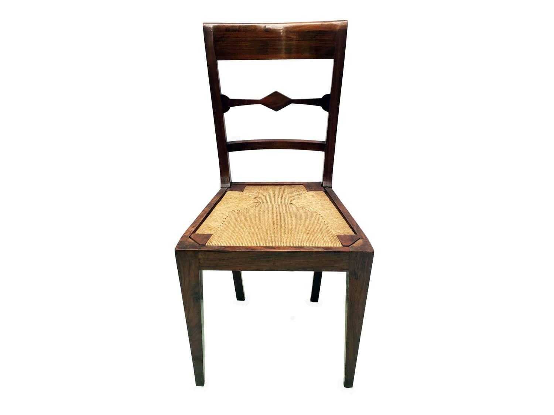 Sedie antiche in noce dell 39 ottocento for Regalo sedie milano
