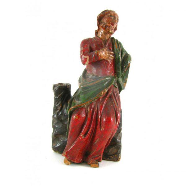Saint John the Baptist Late 17th century Italian Sculpture
