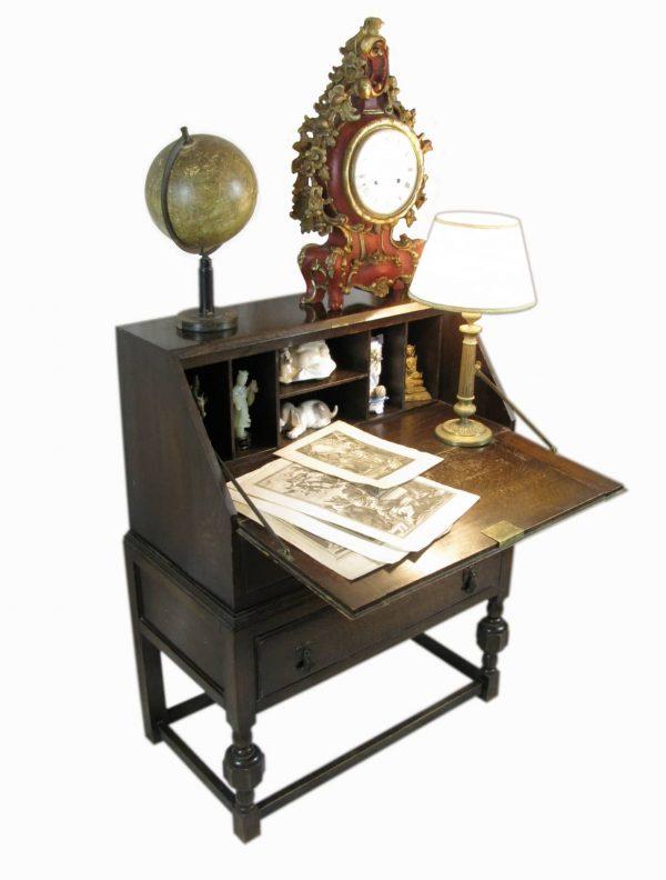 An English Oak Bureau