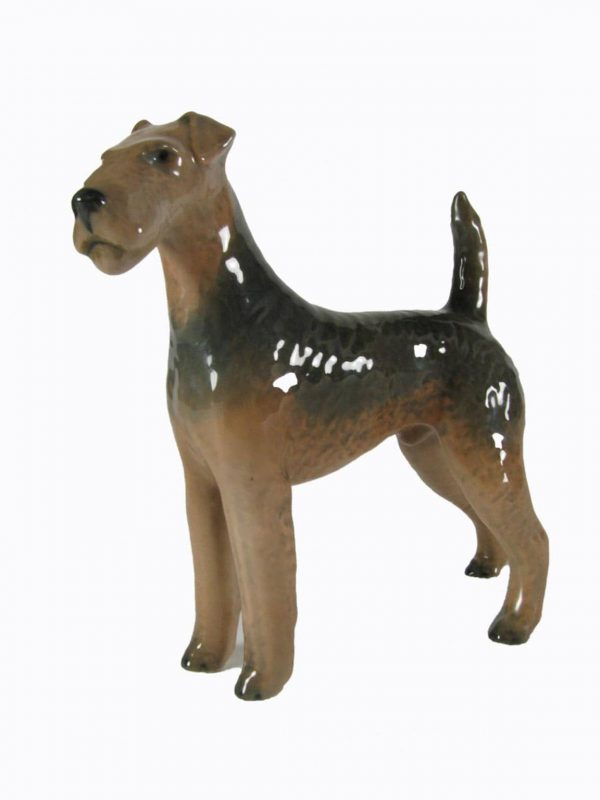 Royal Copenhagen 3139 Dog Figure AIREDALE TERRIER