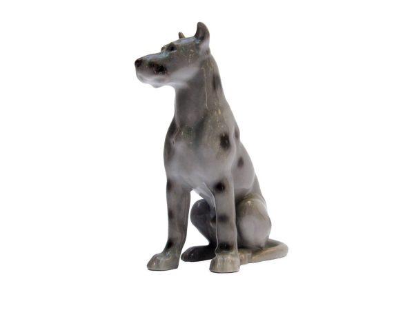 Figura di Alano Tedesco in Porcellana Bing & Grondahl