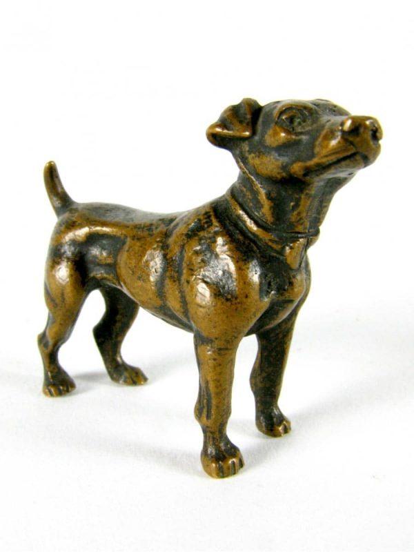Jack Russel in bronzo