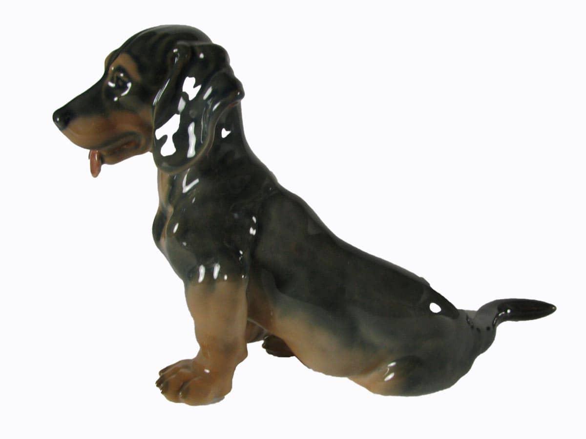 Cane bassotto in porcellana royal copenhagen for Bassotto cane