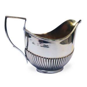 Lattiera argento antico Birmingham 1905-6