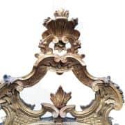 specchiera-antica dorata 2