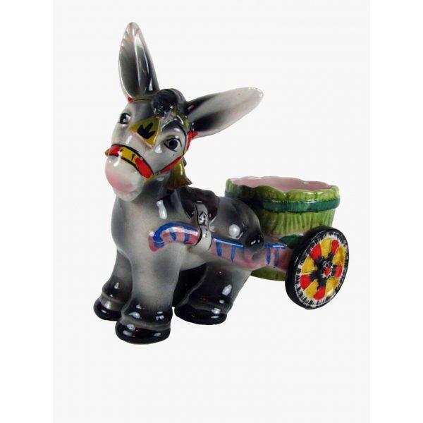 1950s Italian Ceramic Donkey