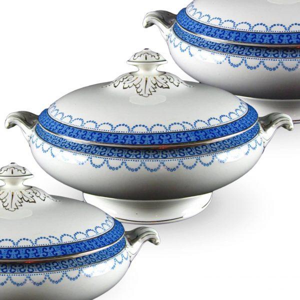 Lot of three ceramic Toureen