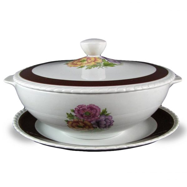 1950's Italian Galvani Porcelain Tureen