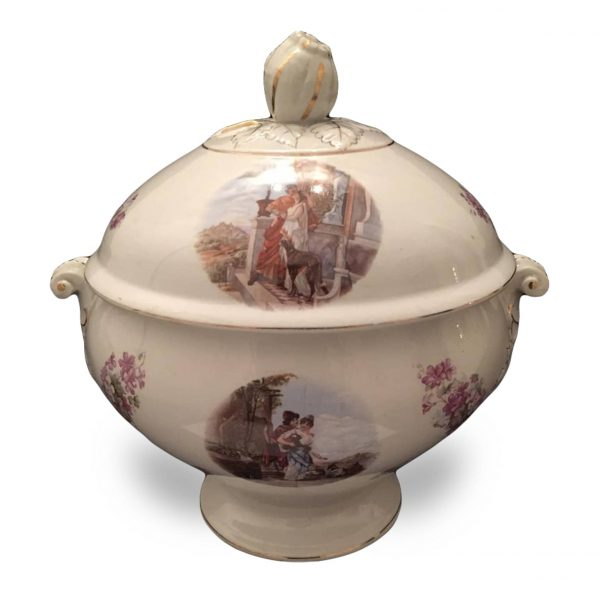 Early 20th century Italian Laveno Tureen