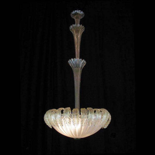1950s Venetian Murano Glass Chandelier