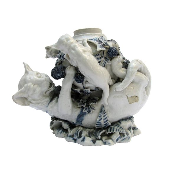 Antique Blue and White Porcelain Group