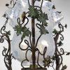 lanterna liberty in ferro e vetro c