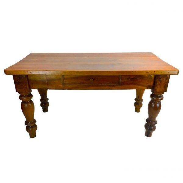 Tavolo Antico Noce Epoca 1800