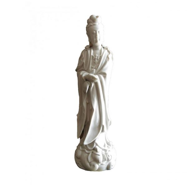 Chinese White Porcelain Guanyin Figure