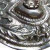 Fermaglio per scialle in argento sbalzato 3