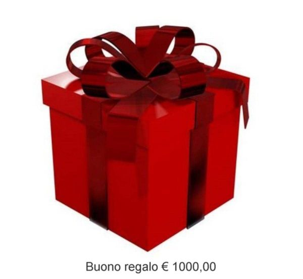 GIFT CARD 1000 Euro