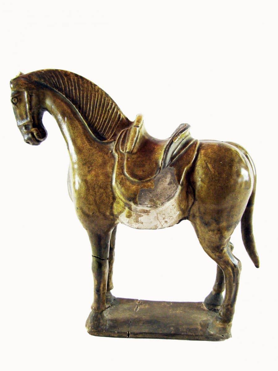 Cavallo cinese in terracotta dinastia tang 618 907 for Antiquariato cinese milano