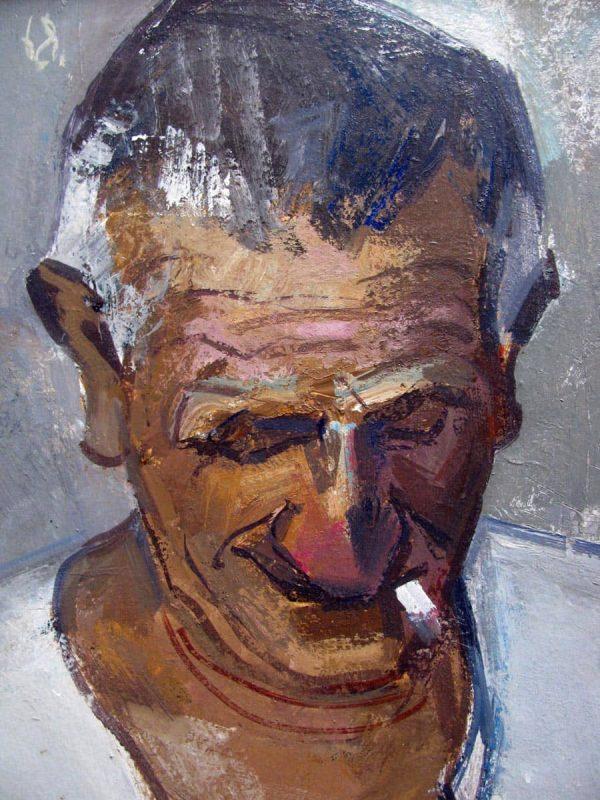 1968 Male Portrait by Cippo Perelli