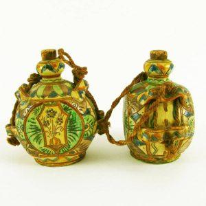 coppia-bottiglie-ceramica-policroma-3124