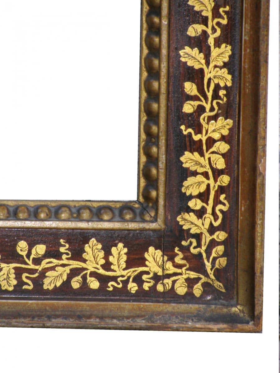 Coppia di cornici francesi xix secolo for Obi cornici per quadri