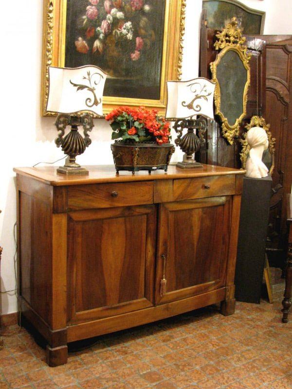 Mid 19th century Italian walnut sideboard