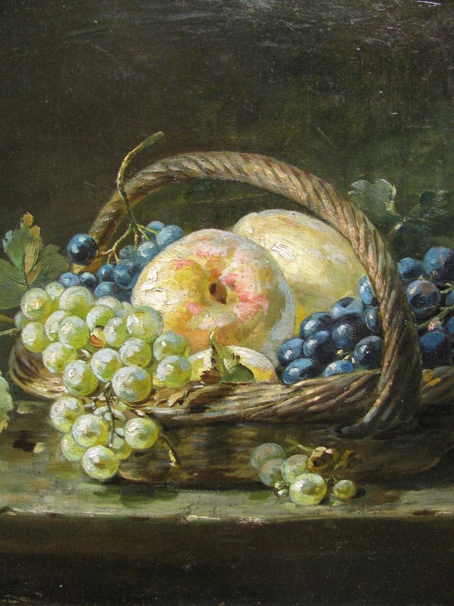 Pierre Nicholas 1846-1913 Natura Morta di Frutta