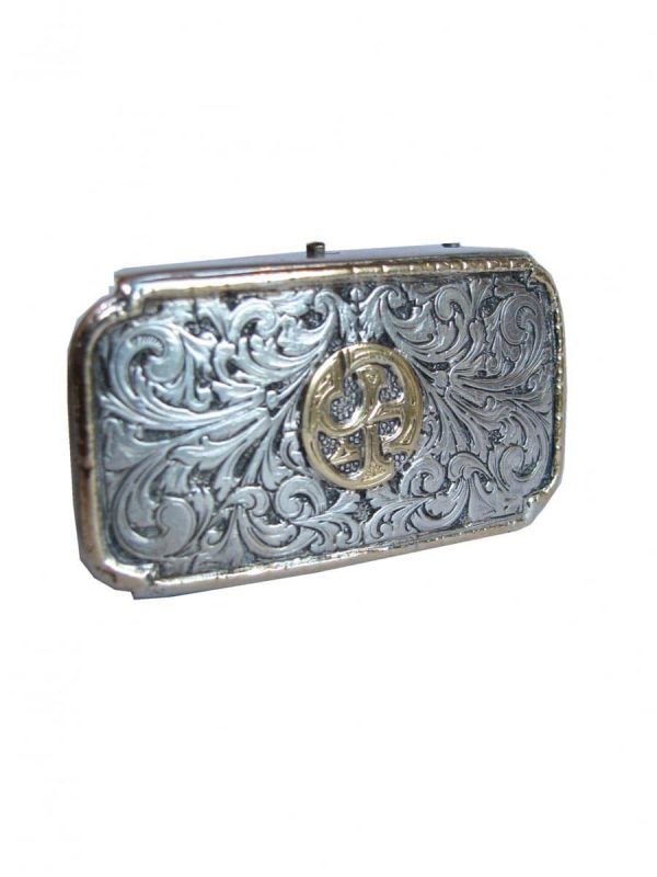 Antique Silver belt-buckle