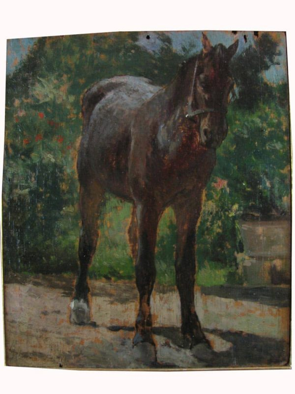 "G. Fattori ""Horse"""