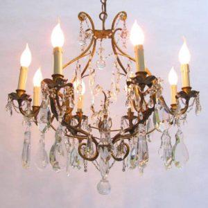 lampadario-antico-ferro-dorato-e-cristallo-8-luci-2059