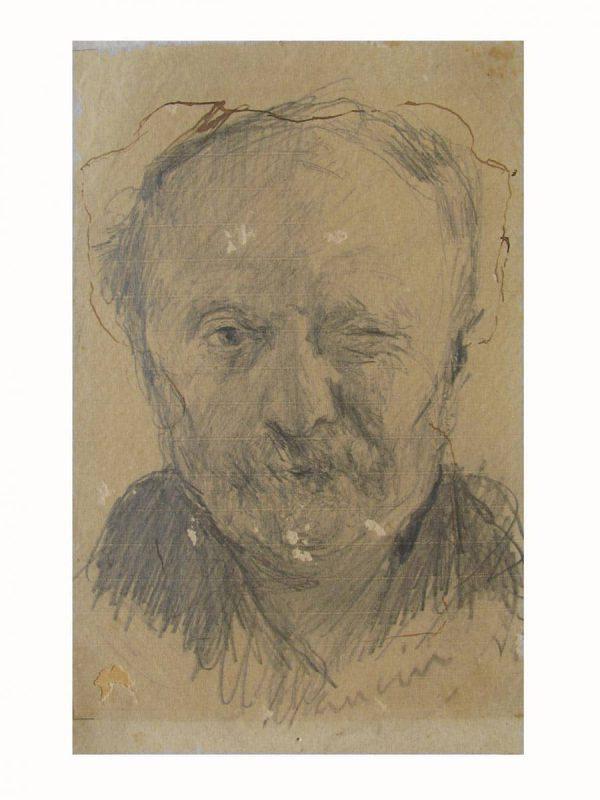 Self-Portrait by Mancini Antonio