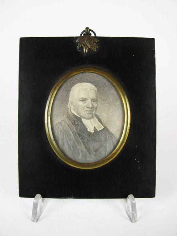 Miniature of Reverand Robert Stevenson
