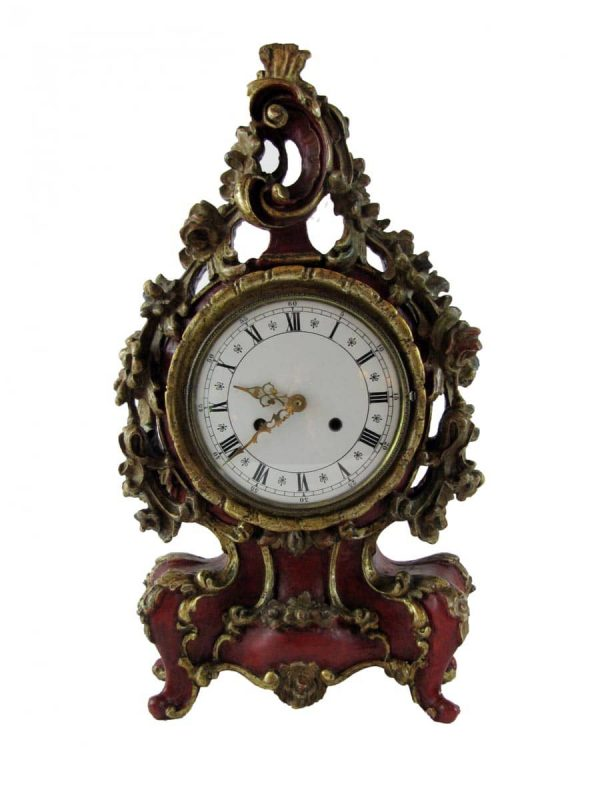 Louis XV Table Clock