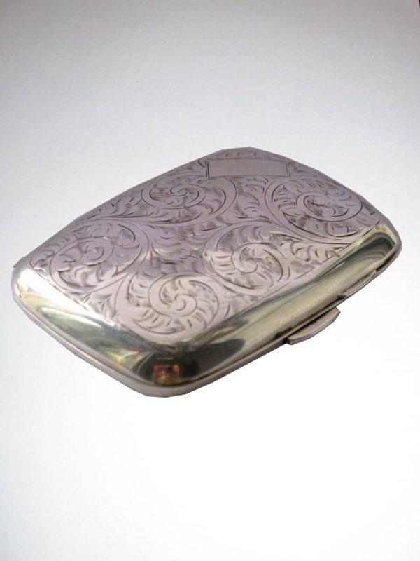 Silver Box Hallmarked Birmingham 1902
