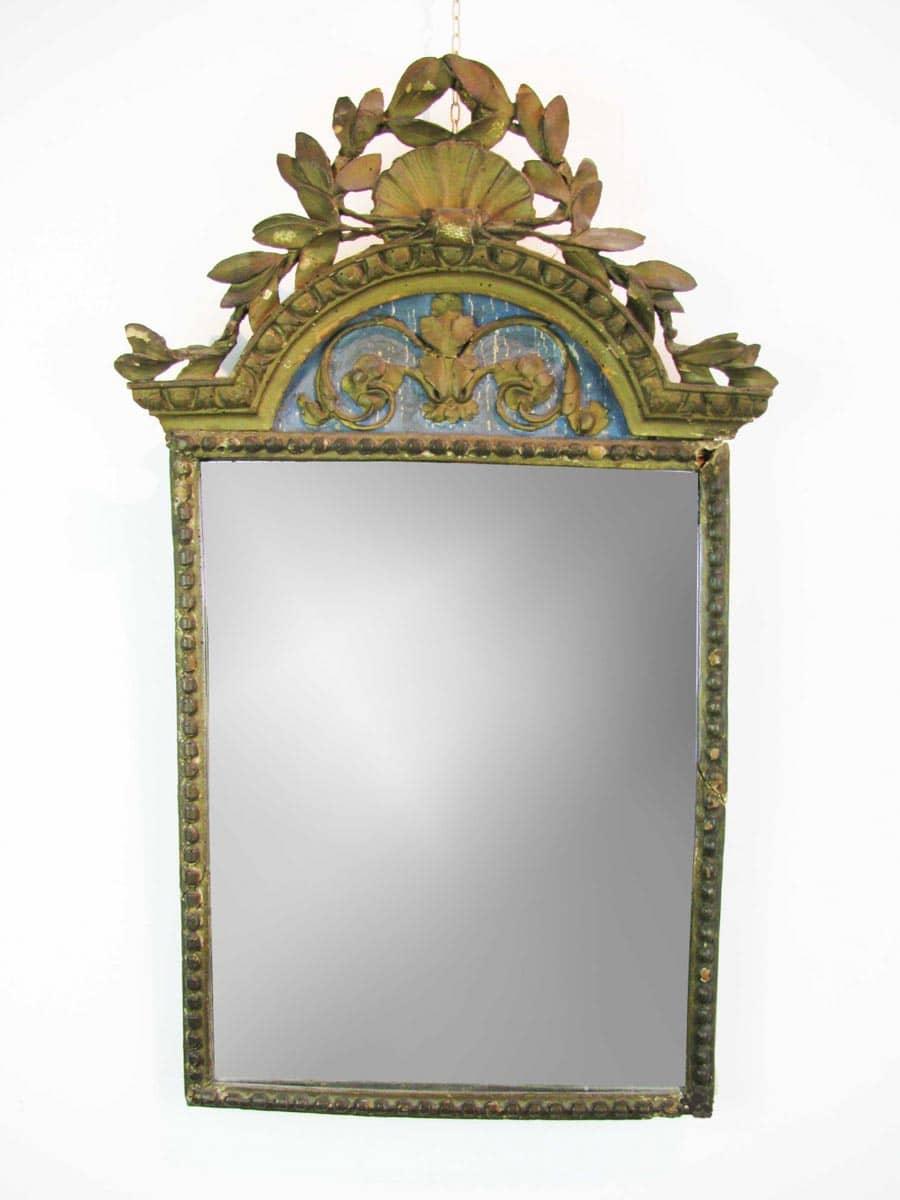 Antique Gilded Mirror Ghilli Antiques In Milano