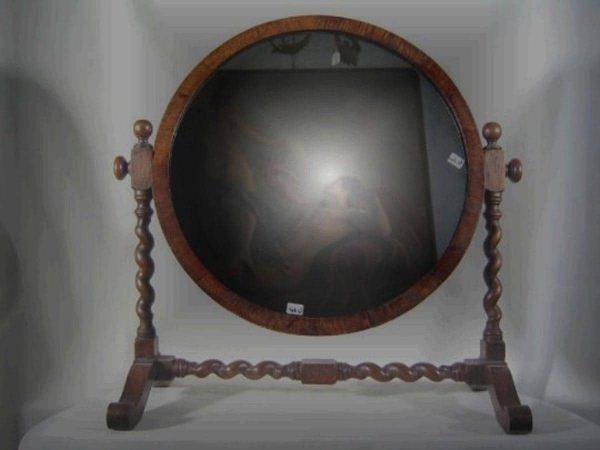 Specchiera  antica da cassettone