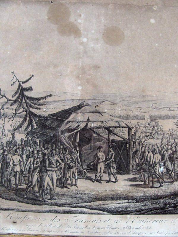 Stampa Napoleonica del XIX secolo