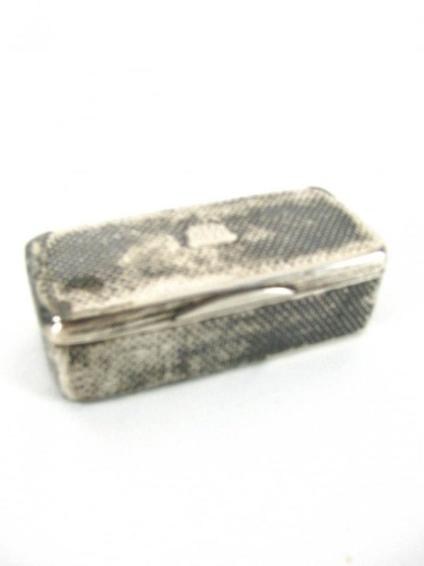 Early 20th century Nielled Silver Snuff Box
