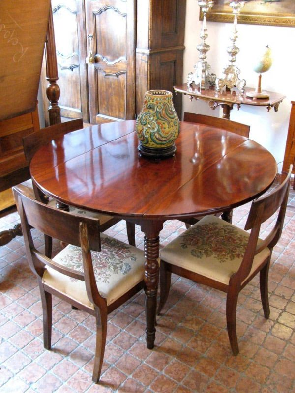 An early 20th Century Mahogany Pembroke Table