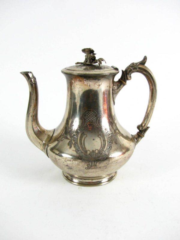 Late 19th century Sheffield Tea Pot