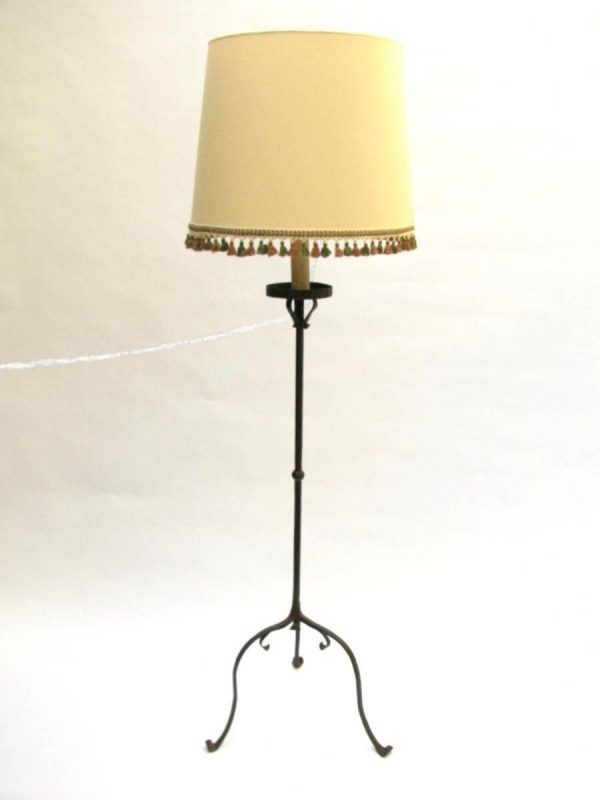 Floor lamp -Wrought iron candlestick