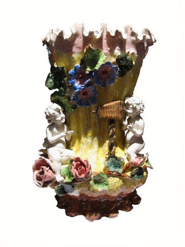 Italian Liberty Pottery Vase