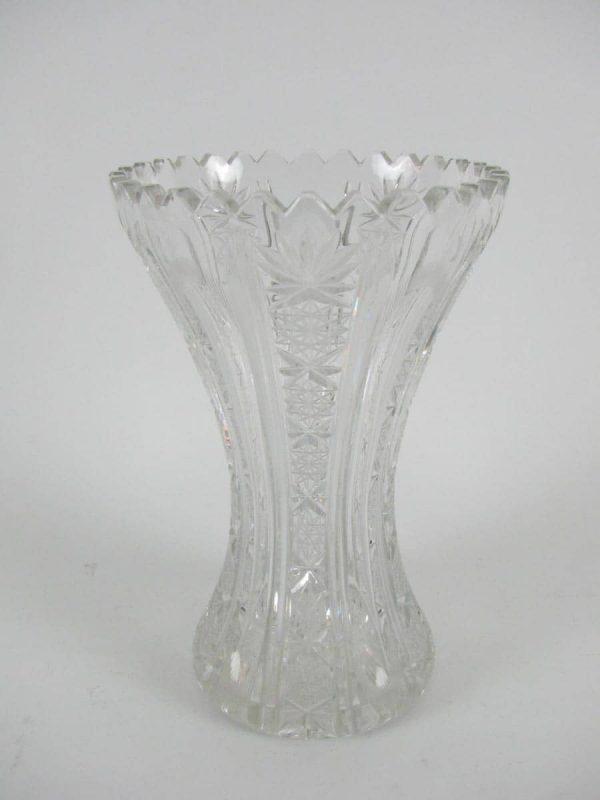 Cut Cristal Vase