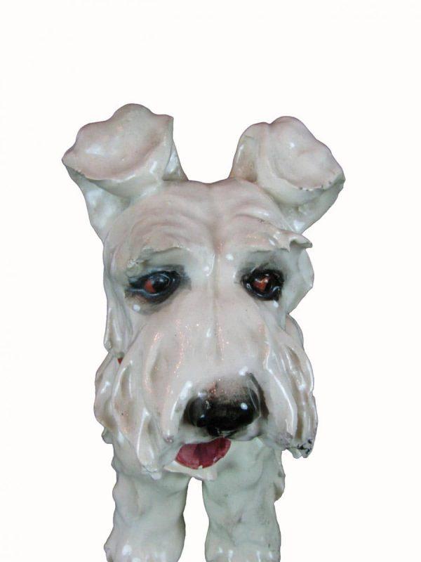 Ceramic Dog Figure of Welsh Terrier