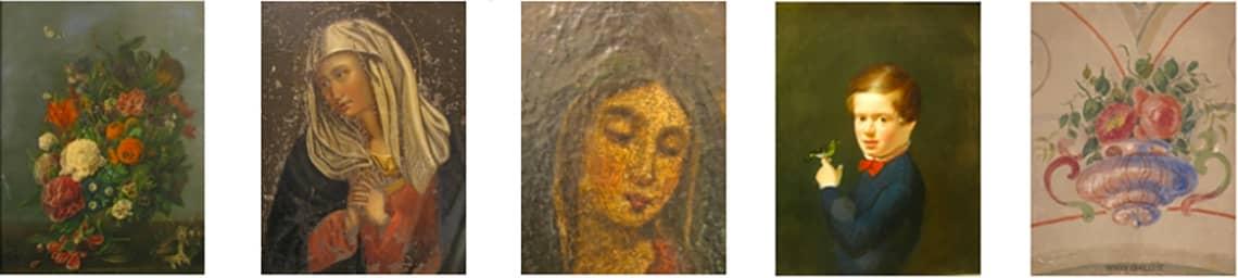 Dipinti a olio