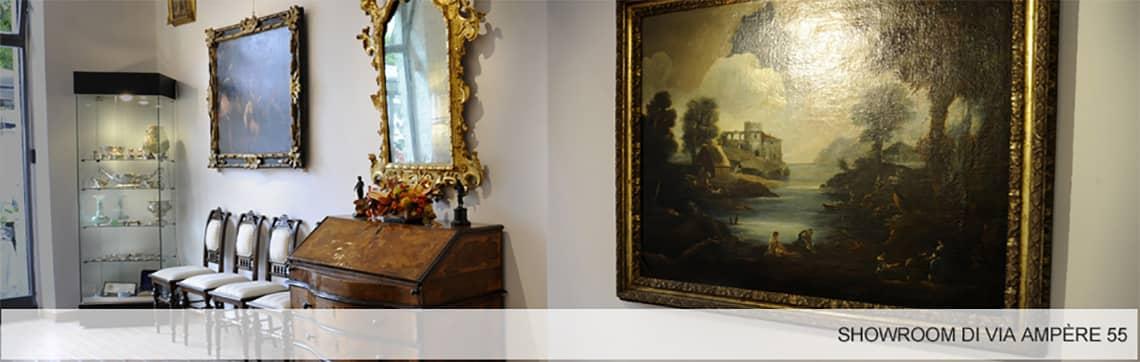 Mobili antichi Milano in vendita da Ghilli antichità