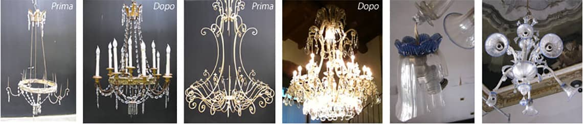 Restauro lampadari