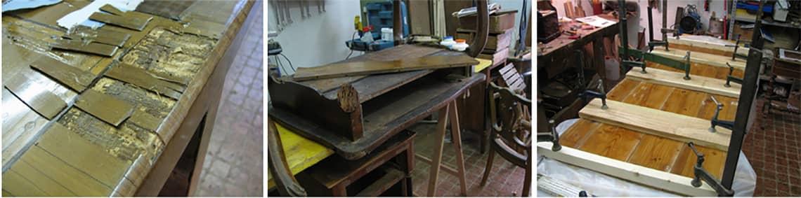 Restauro mobili antichi Milano da Ghilli restauratori
